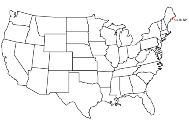 Acadia NP Map