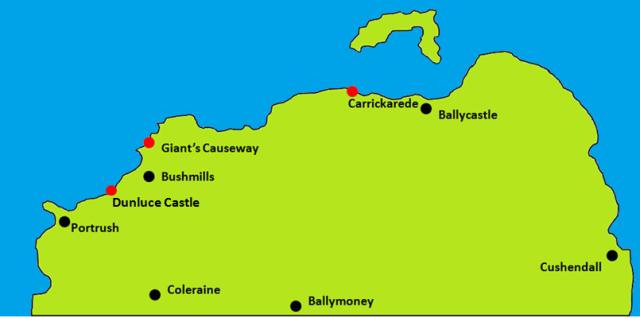 Dunluce Castle Map.png
