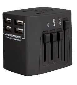 Why Stay Home - Universal Adapter