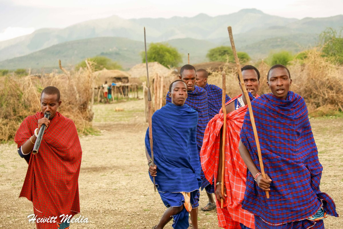 Our Visit to a Maasai Village in Tanzania