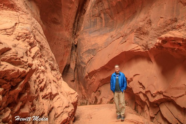 Grand Staircase - Long Slot Canyon-6681