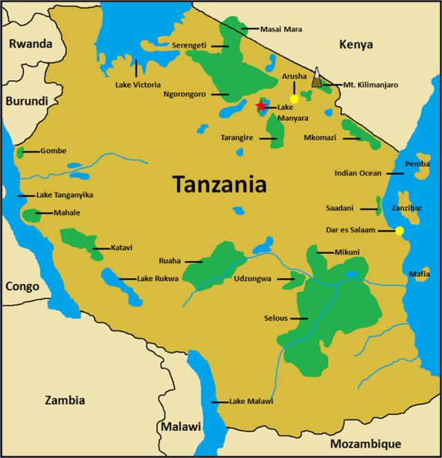 Tanzania Map.png