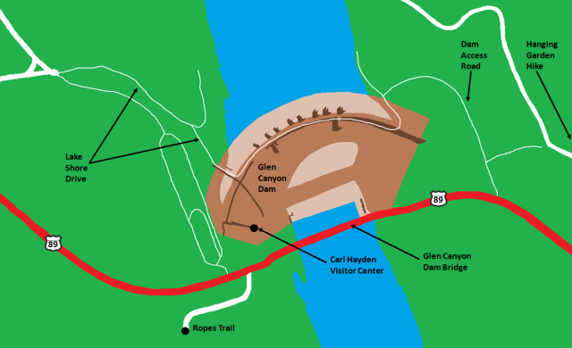 Glen Canyon Dam Map.png