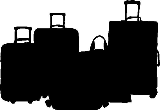 Luggage Sillouette